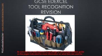 GCSE Tool Recogniton Quiz