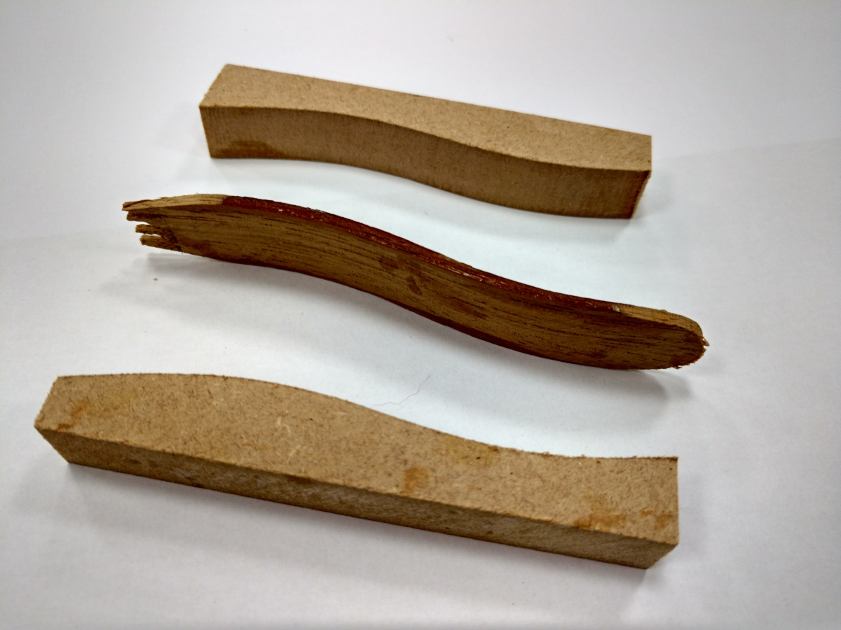 Design Technology Blog: Pratical Lesson Prep for Wood Laminating Mini Project - Wooden Chip Fork