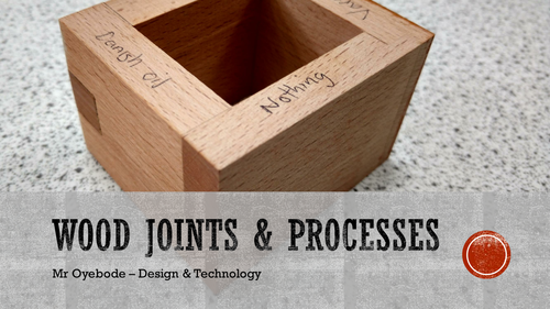 wood joints and processes 1