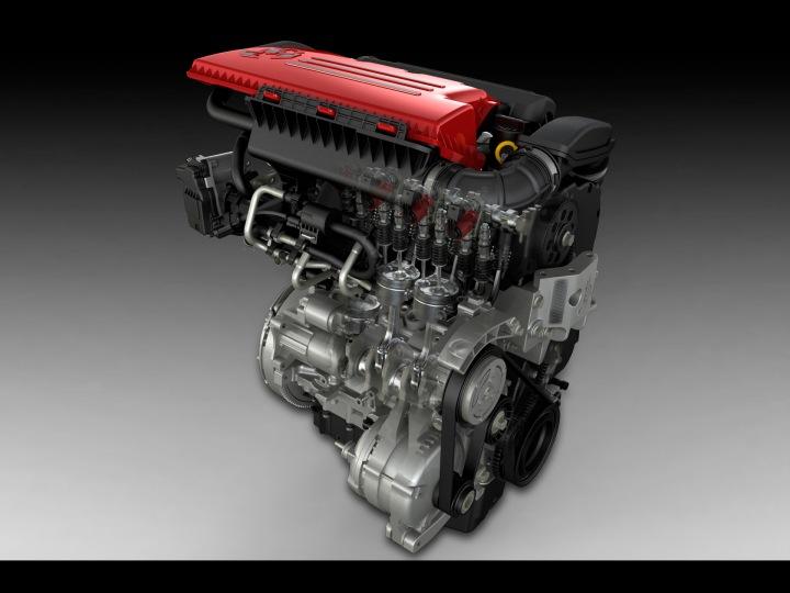 2012 Fiat 500 Abarth's 1.4-liter MultiAir® Turbo engine