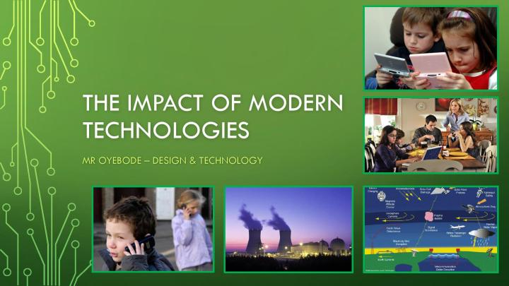 The Impact of Modern Technologies-page-001
