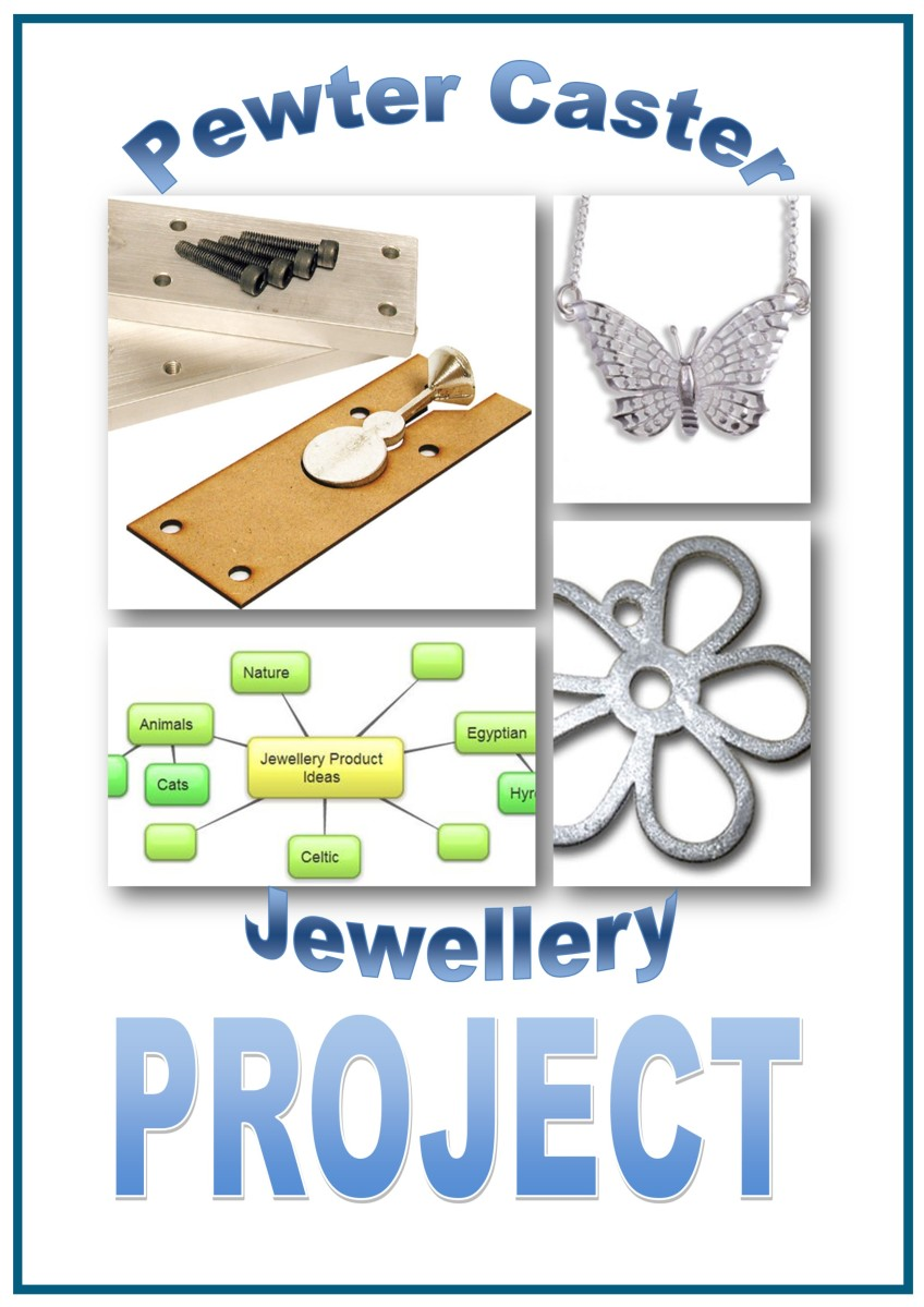 Design and Technology Resources: Year 9 Project Booklet - Pewter Caster Jewellery