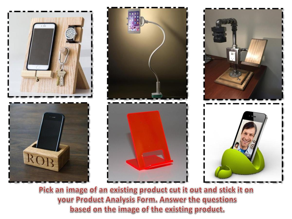 Design Technology Resources: FREE Product Analysis (ACCESS FM) exercise/starter
