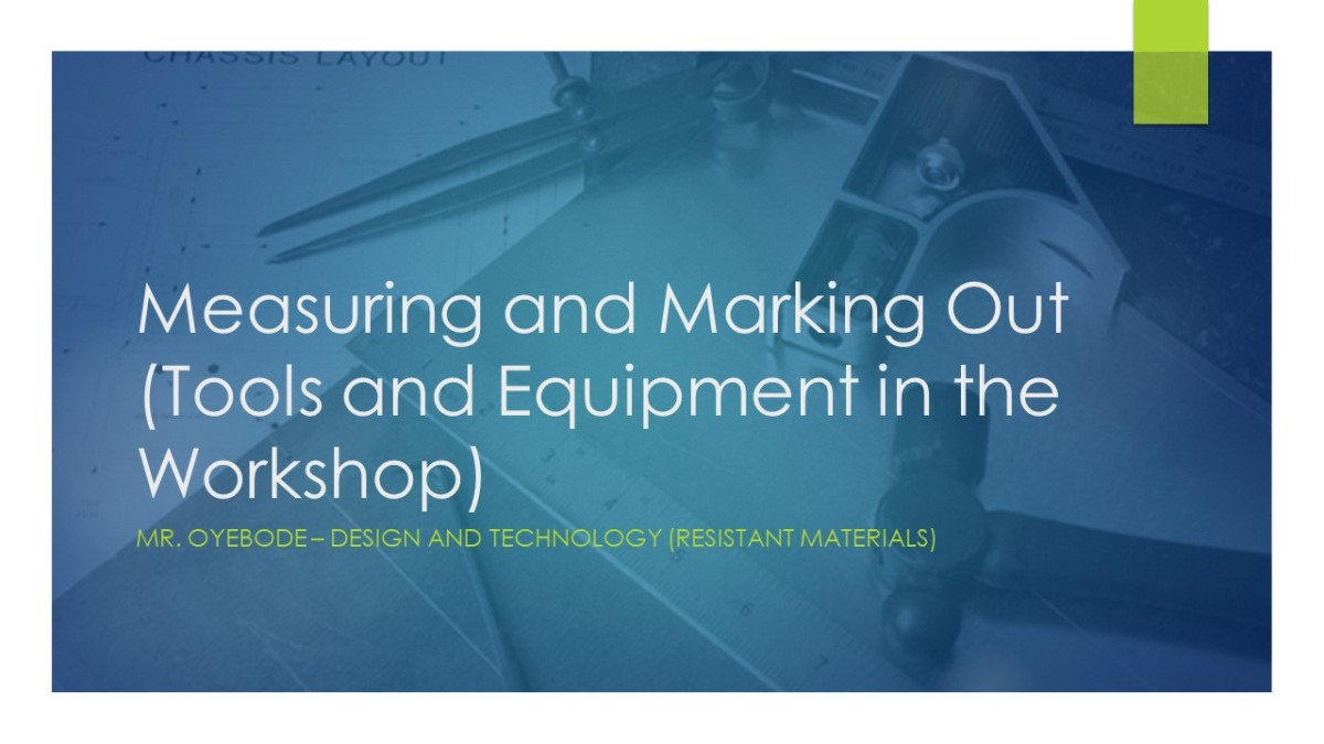 Design Technology Resources: Measuring and Marking out Timber, Metal and Plastic