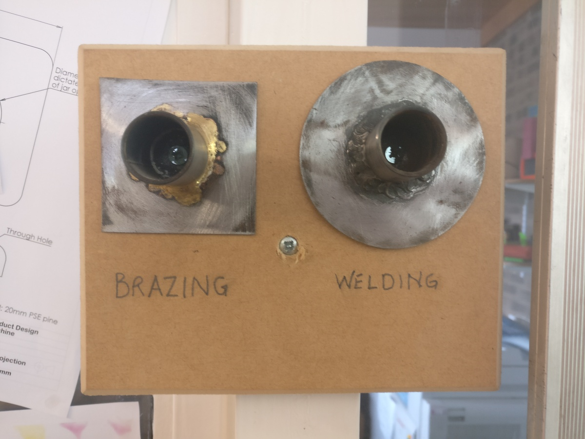 Design Technology Resources: Brazing Vs Welding