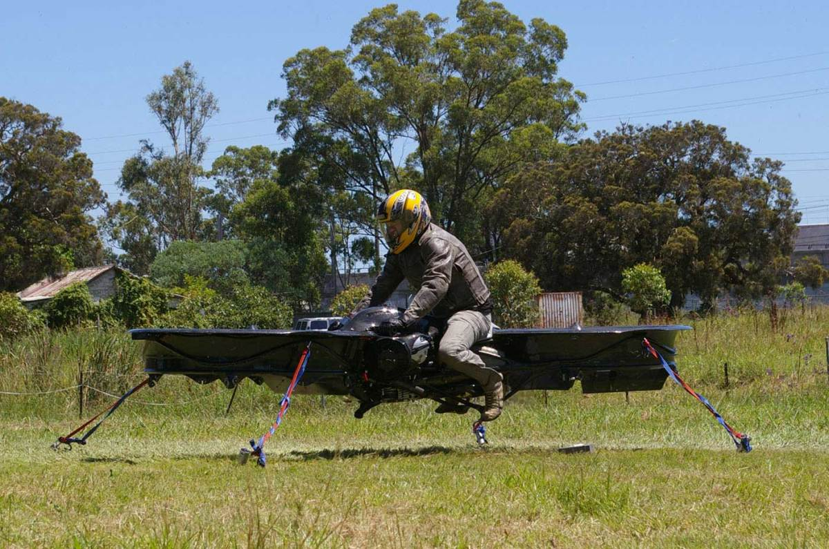 DT & Engineering Blog: Malloy Hoverbike