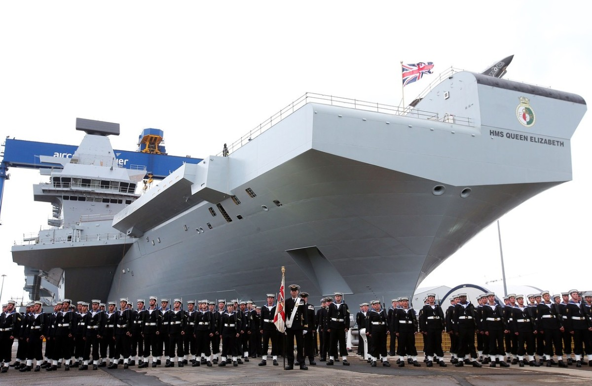 DT & Engineering Blog: History of Aircraft Carrier Aviation and the construction of HMS Queen Elizabeth