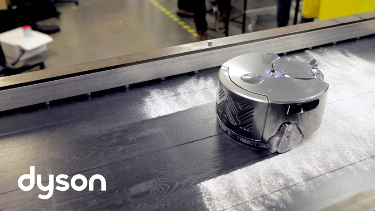DT & Engineering Blog: Dyson 360 Eye Robot Vacuum