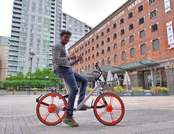 Mobike in Manchester