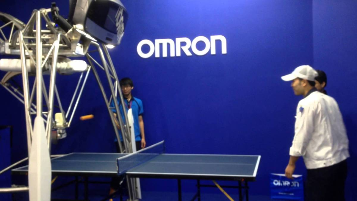 DT & Engineering Blog: Omron Ping-Pong Robot