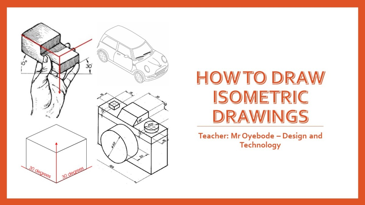 Design Technology Resources: How to draw Isometric drawings